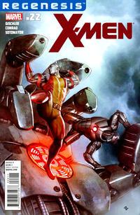 Cover for X-Men (Marvel, 2010 series) #22