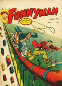 Cover Thumbnail for Funnyman (Anglo-American Publishing Company Limited, 1948 series) #2