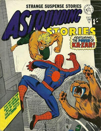 Cover Thumbnail for Astounding Stories (Alan Class, 1966 series) #66
