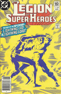 Cover Thumbnail for The Legion of Super-Heroes (DC, 1980 series) #302 [Canadian]