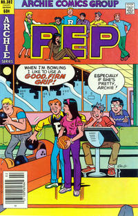 Cover Thumbnail for Pep (Archie, 1960 series) #382