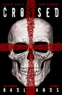 Cover Thumbnail for Crossed Badlands (Avatar Press, 2012 series) #1 [Incentive Red Crossed Cover - Jacen Burrows]