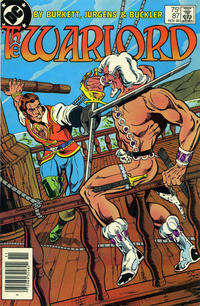 Cover for Warlord (DC, 1976 series) #87 [Direct Sales]