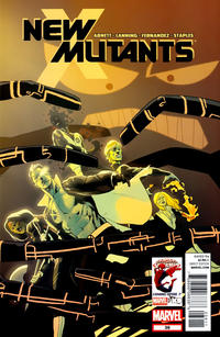 Cover Thumbnail for New Mutants (Marvel, 2009 series) #39