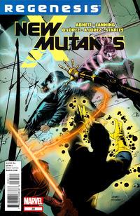 Cover Thumbnail for New Mutants (Marvel, 2009 series) #35