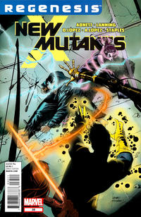 Cover Thumbnail for New Mutants (Marvel, 2009 series) #35