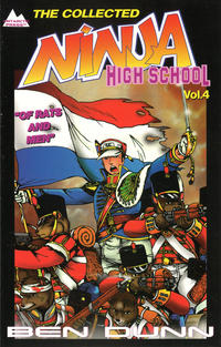 Cover Thumbnail for The Collected Ninja High School (Antarctic Press, 1994 series) #4 - Of Rats and Men