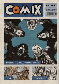 Cover Thumbnail for Comix (JNK, 2010 series) #2/2012