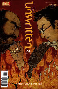 Cover for The Unwritten (DC, 2009 series) #34