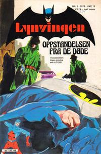 Cover Thumbnail for Lynvingen (Semic, 1977 series) #3/1978