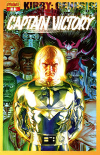 Cover Thumbnail for Kirby: Genesis - Captain Victory (Dynamite Entertainment, 2011 series) #1 [Cover A Alex Ross]