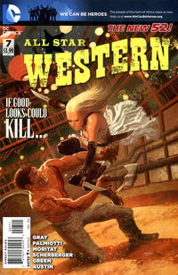 Cover Thumbnail for All Star Western (DC, 2011 series) #7