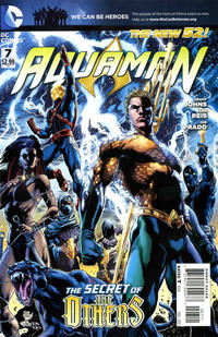 Cover Thumbnail for Aquaman (DC, 2011 series) #7