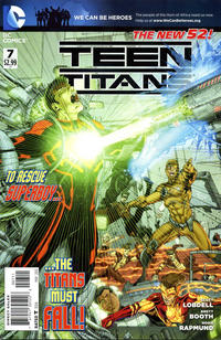 Cover Thumbnail for Teen Titans (DC, 2011 series) #7