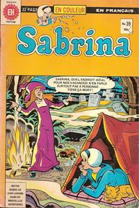 Cover Thumbnail for Sabrina La Jeune Sorcière (Editions Héritage, 1973 series) #39