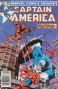 Cover Thumbnail for Captain America (Marvel, 1968 series) #285 [Canadian Newsstand Edition]