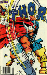 Cover Thumbnail for Thor (Marvel, 1966 series) #337 [Canadian Newsstand]