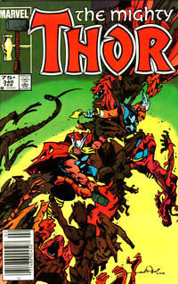Cover Thumbnail for Thor (Marvel, 1966 series) #340 [Canadian variant]
