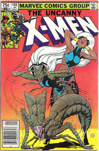 Cover Thumbnail for The Uncanny X-Men (Marvel, 1981 series) #165 [Canadian]