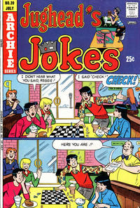 Cover Thumbnail for Jughead's Jokes (Archie, 1967 series) #39