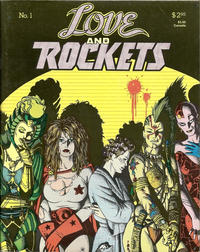 Cover Thumbnail for Love and Rockets (Fantagraphics, 1982 series) #1 [1st printing]