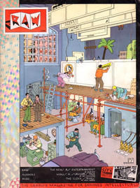 Cover for Raw (Raw Books, 1980 series) #2