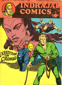 Cover Thumbnail for Indrajal Comics (Bennet, Coleman & Co., 1964 series) #v22#21 [564]