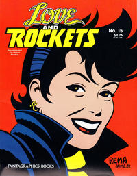 Cover Thumbnail for Love and Rockets (Fantagraphics, 1982 series) #15 [Second Printing]
