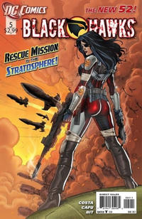 Cover Thumbnail for Blackhawks (DC, 2011 series) #5