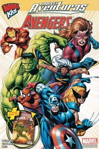 Cover Thumbnail for Marvel Aventuras (Editorial Televisa, 2011 series) #8