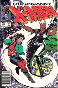 Cover for The Uncanny X-Men (Marvel, 1981 series) #180 [Direct Edition]