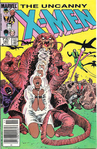 Cover Thumbnail for The Uncanny X-Men (Marvel, 1981 series) #187 [Canadian]