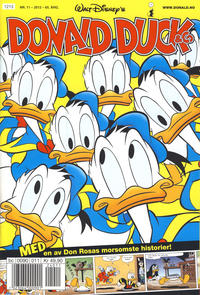 Cover Thumbnail for Donald Duck & Co (Hjemmet / Egmont, 1948 series) #11/2012