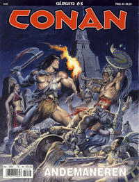 Cover Thumbnail for Conan album (Bladkompaniet / Schibsted, 1992 series) #63 - Åndemaneren