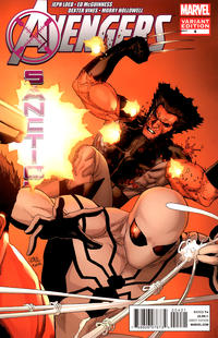 Cover Thumbnail for Avengers: X-Sanction (Marvel, 2012 series) #4 [Connecting Variant Cover by Leinil Francis Yu]