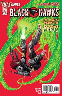 Cover Thumbnail for Blackhawks (DC, 2011 series) #6
