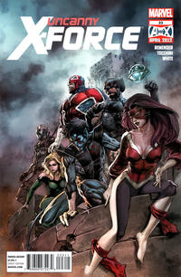 Cover Thumbnail for Uncanny X-Force (Marvel, 2010 series) #23