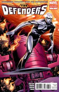 Cover Thumbnail for Defenders (Marvel, 2012 series) #3 [Variant Cover by Adam Kubert & Laura Martin]