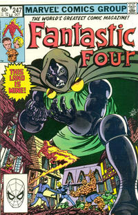Cover Thumbnail for Fantastic Four (Marvel, 1961 series) #247 [Direct Edition]