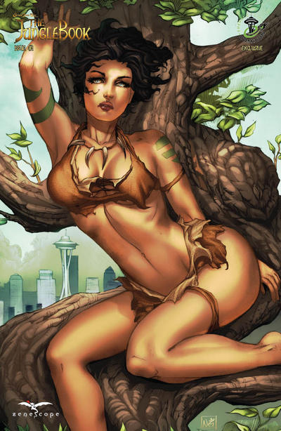 Cover for Grimm Fairy Tales Presents The Jungle Book (Zenescope Entertainment, 2012 series) #1