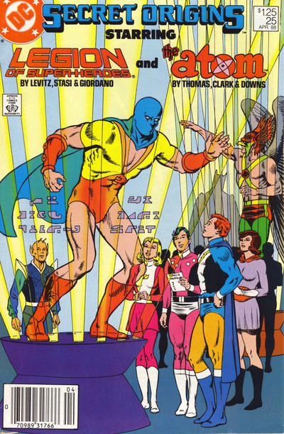 Cover for Secret Origins (DC, 1986 series) #25 [Canadian]