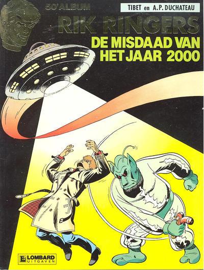 Cover for Rik Ringers (Le Lombard, 1963 series) #50 - De misdaad van het jaar 2000