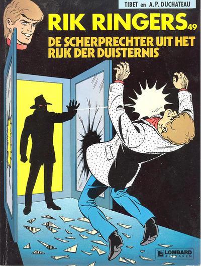 Cover for Rik Ringers (Le Lombard, 1963 series) #49 - De scherprechter uit het rijk der duisternis