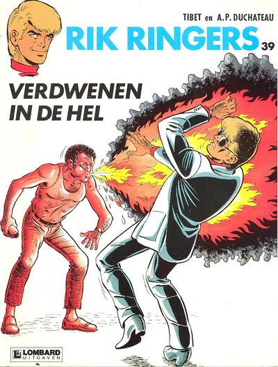 Cover for Rik Ringers (Le Lombard, 1963 series) #39 - Verdwenen in de hel