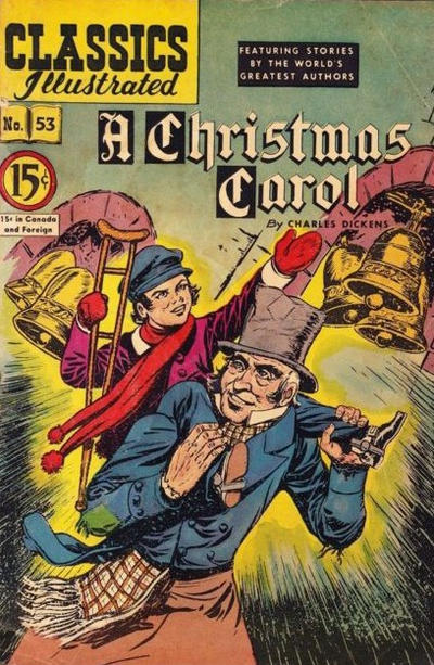 Cover for Classics Illustrated (Gilberton, 1948 series) #53