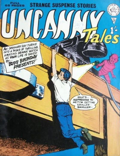 Cover for Uncanny Tales (Alan Class, 1963 series) #17