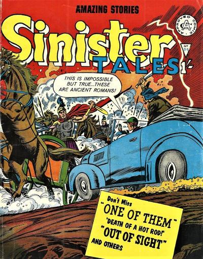 Cover for Sinister Tales (Alan Class, 1964 series) #96