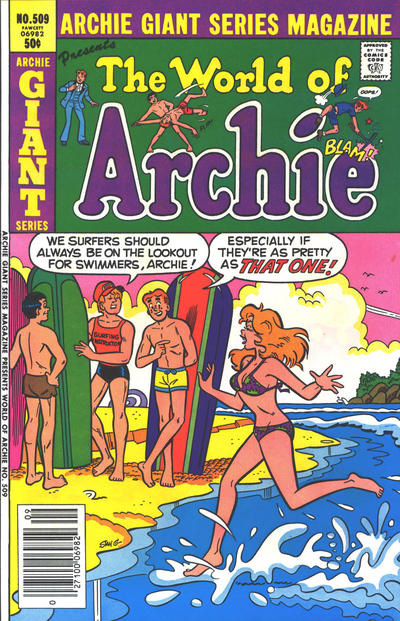 Cover for Archie Giant Series Magazine (Archie, 1954 series) #509