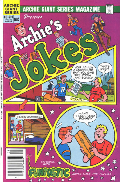 Cover for Archie Giant Series Magazine (Archie, 1954 series) #519