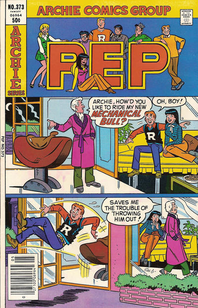 Cover for Pep (Archie, 1960 series) #373